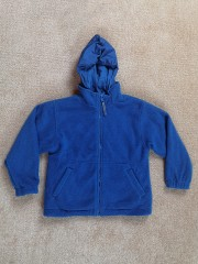Vaikiškas džemperis -striukė su kapišonu (apie 6-7 metų)