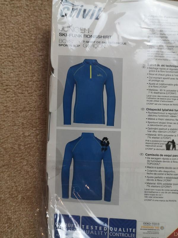 CRIVIT sportinis džemperis berniukams (146/152, 10-12 metų)