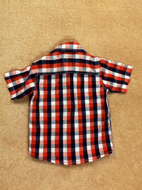 Smartly styled marškiniai berniukams (92 dydis, 2 metai)