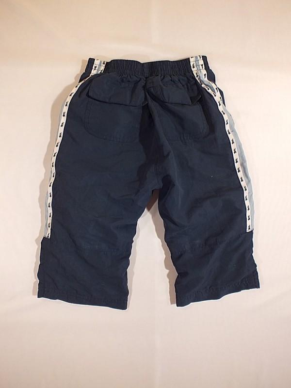 Tamsiai mėlyni bridžai berniukams (5 - 6 metų)