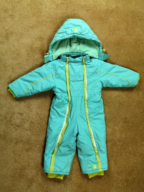 COCCODRILLO žieminis šiltas kombinezonas berniukams (92 dydis, 2 metai)