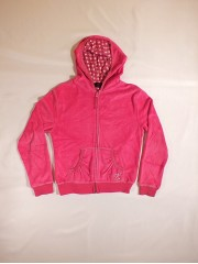 Rožinis džemperis mergaitėms (9-10 metų)