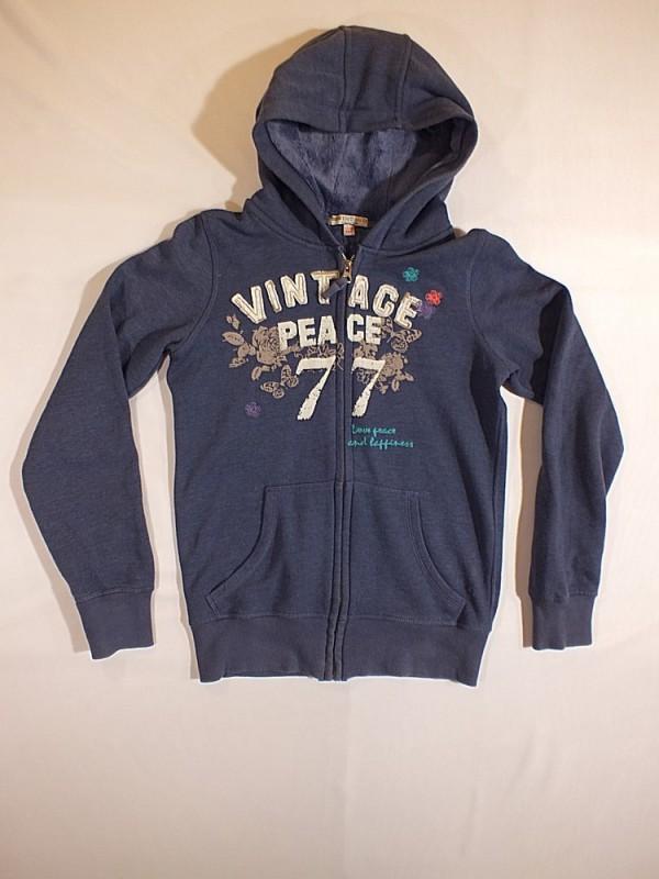 Mėlynas džemperis mergaitėms (11-12 metų)