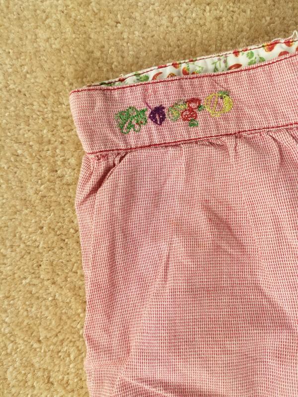SERGENT MAJOR šortukai mergaitėms (1 metų, 74 cm)