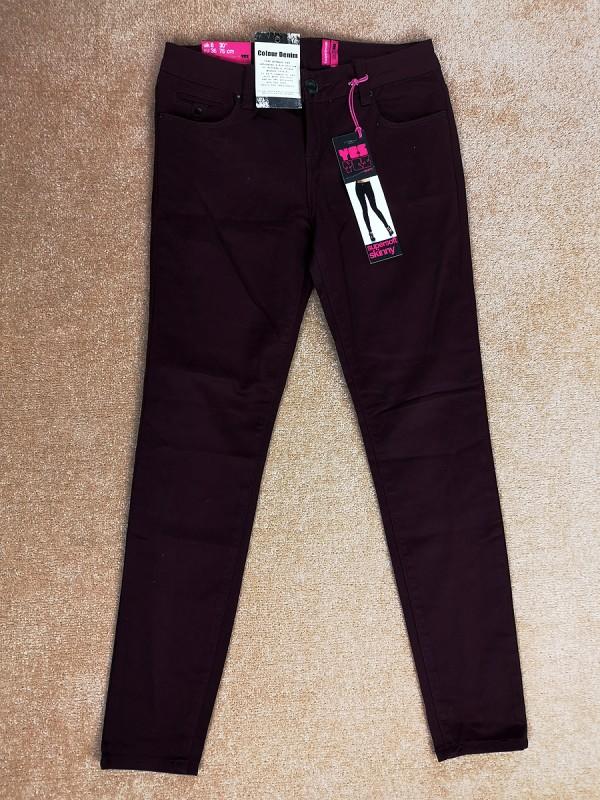 YES YES tamprūs bordiniai džinsai moterims ir mergaitėms (S)