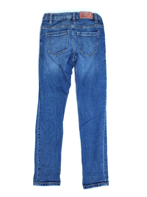 Denim reguliojami džinsai mergaitėms (8 metai)