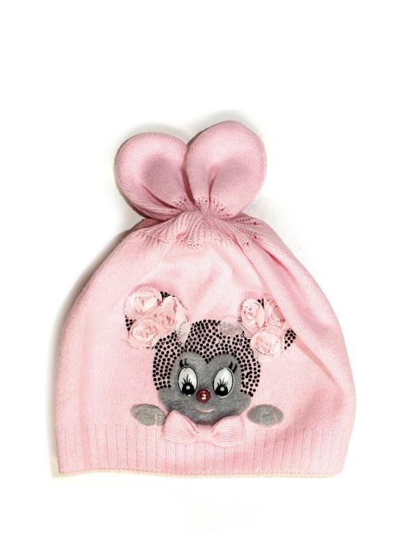 Ambra pavasarinė kepurė mergaitėms (1-2 metų)