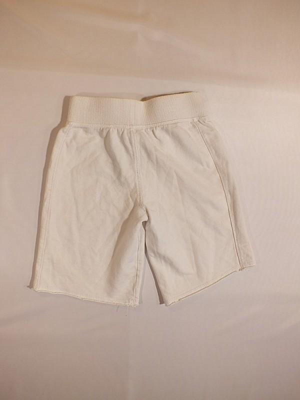 Balti šortukai mergaitėms (6 metai)