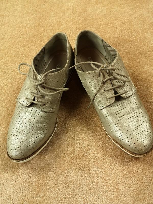 GRACELAND dirbtinės odos batai moterims (39 dydis)