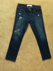 AVERCROMBIE & FITCH firminiai džinsai moterims (S-M)