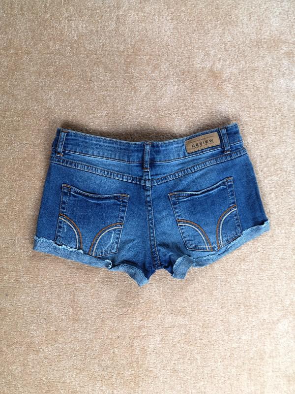 REVIEW džinsiniai šortukai moterims (XS)