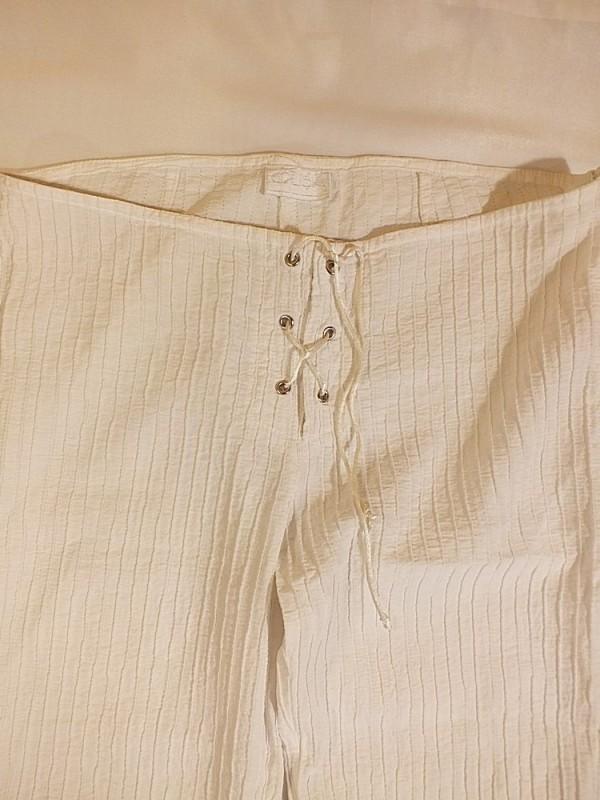 Viskozinės - medvilninės tamprios kelnės (M)