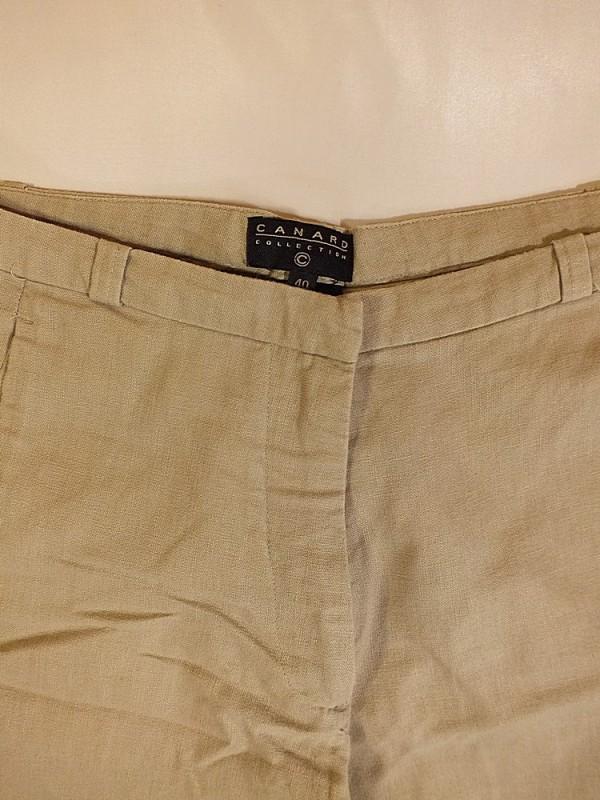 Canard medvilninės - lininės kelnės (L)
