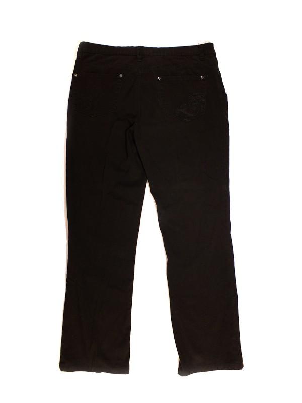 Kelnės tamsiai rudos (XL)