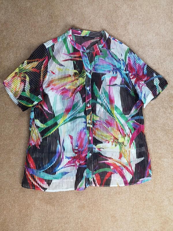 Permatomi marškiniai moterims (XL)