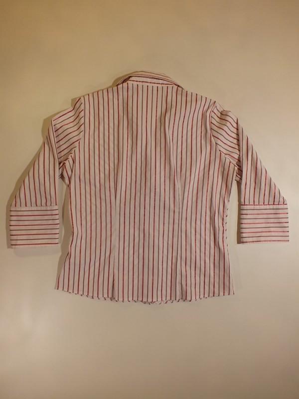 Yessica tamprūs medvilniniai marškiniai moterims (L)