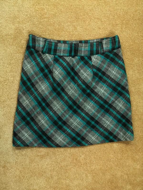 STREAT ONE vilnonis sijonas su pamušalu moterims (34 dydis, XS)