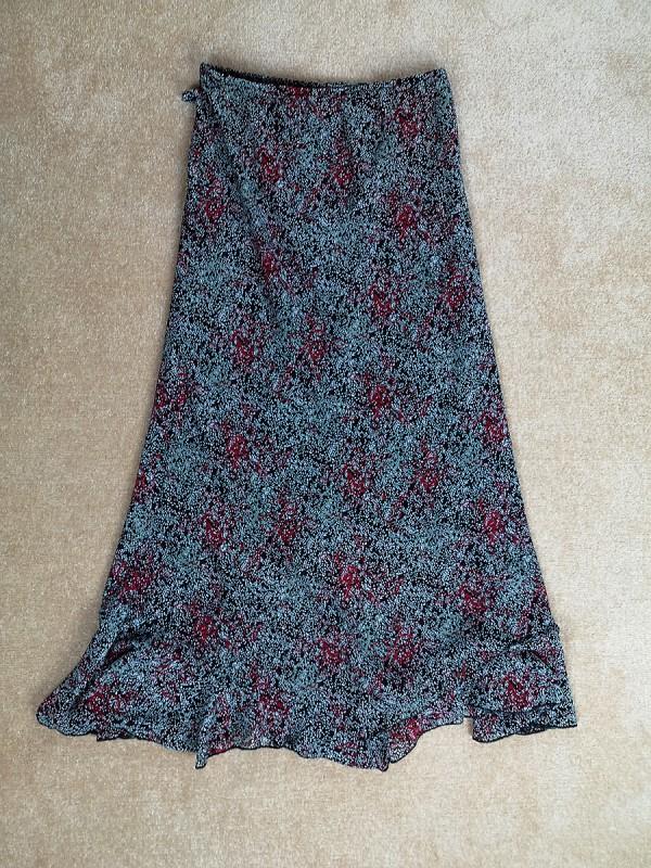 Prancūziškas sijonas su pamušalu moterims (M-L)