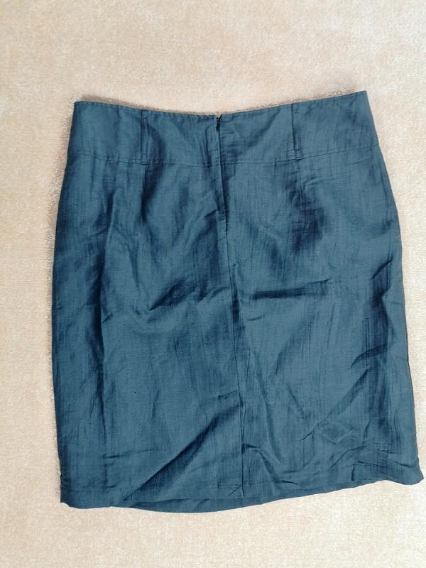 FABIANI lininis sijonas su pamušalu moterims (XL-XXL)