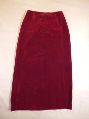 Medvilninis sijonas su skeltukais šone (XL)