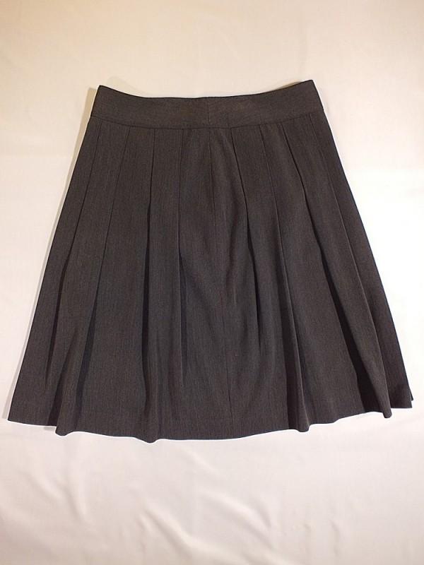 Pilkas šiltas sijonas su pamušalu (L)