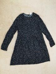 H&M laisva viskozinė suknelė moterims (S-M)
