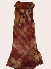 Maria Magdalena puošni suknelė su pamušalu ir skarele (M)