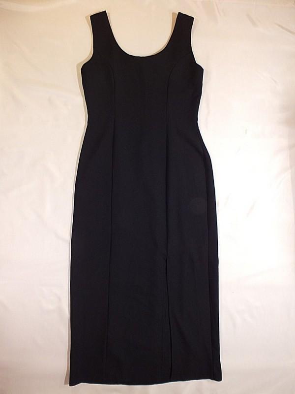 Jennifer juoda suknelė (S-M)