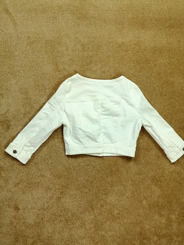 ORSAY JEANS baltas džinsinis švarkelis moterims (XS)